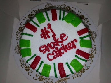Cake from students